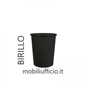 102015 cestino gettacarte BIRILLO in polipropilene