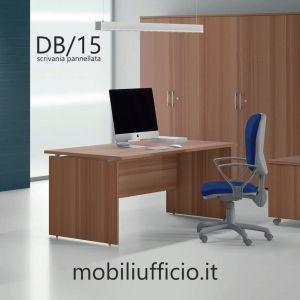 DB/15 scrivania DERBY operativa p. 80 base pannellata
