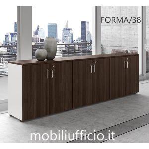 FORMA/38 mobile basso FORMA direzionale con 6 ante
