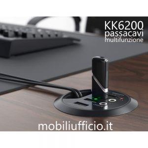 KK6200 borchia passacavi ROCK multifunzione