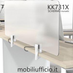 KK731X schermo parafiato con morsetti