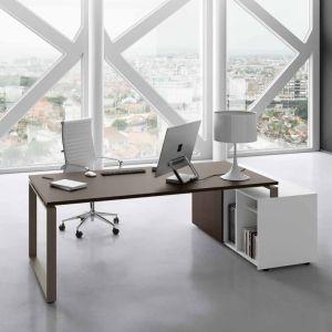 LF17/09 scrivania LOFT anello chiuso e mobile SWING