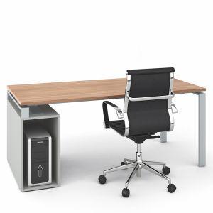 LFAP19 - scrivania con base porta computer