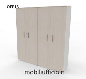 OFF13 - armadio 4 ante OFF archivio h. 200