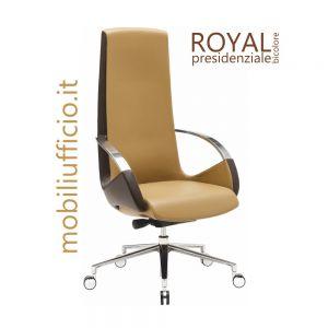 RY/100B poltrona ROYAL presidenziale BICOLORE
