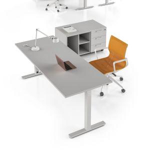FY2S10X - scrivania prof. 80 FUNNY base T-SQUARE