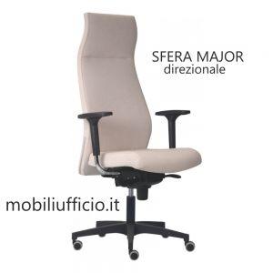 SR/151 poltrona SFERA MAJOR ergonomica ALTA