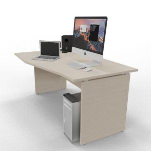 TK5015 scrivania sagomata TEKO