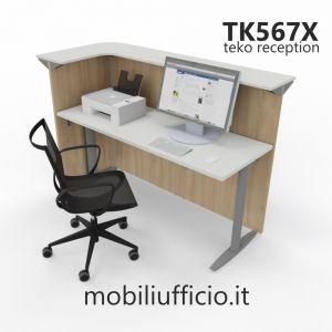 TK567X bancone angolo TEKO SMART p. 79,3