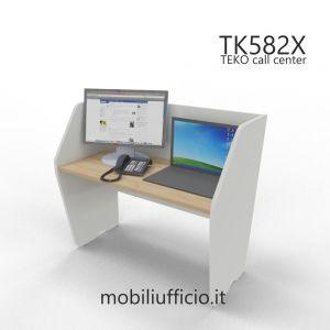 TK582X postazione TEKO call-center SINGOLA