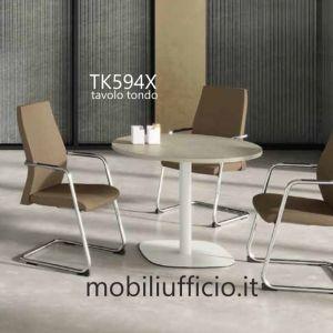 TK594X tavolo tondo TEKO
