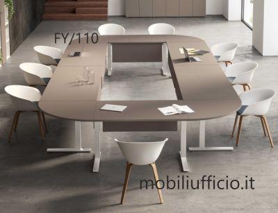 FY/110 tavolo conferenza FUNNY struttura CSQUARE