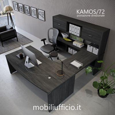 KAMOS/72 postazione KAMOS direzionale con consolle posteriore