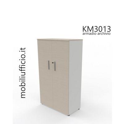 KM3013 mobile archivio H. 158,1 con doppia anta e serratura
