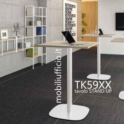 TK59XX tavolino TEKO STAND UP h. 110 base a piantana